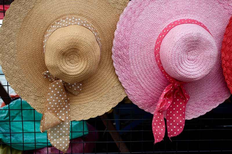 7 sombreros